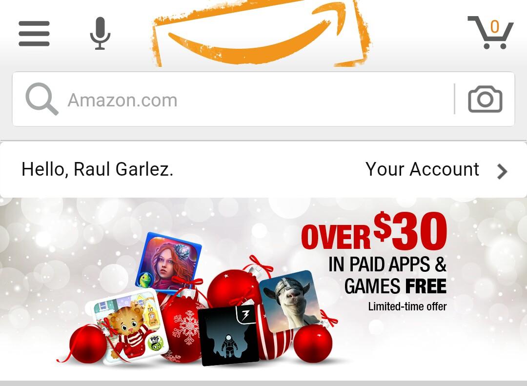 Amazon  [+ de 30 Dolares de Apps y Juegos] GRATIS