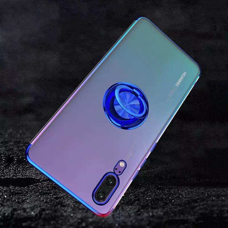Aliexpress: Funda de teléfono con anillo de dedo para Huawei p30 P20 P10 Lite, Mate 20 10 P9 P8 Y9 Y6 Lite