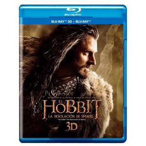 Elektra:El Hobbit: La Desolación De Smaug Blu ray 3D + Bluray +DVD+ Copia Digital