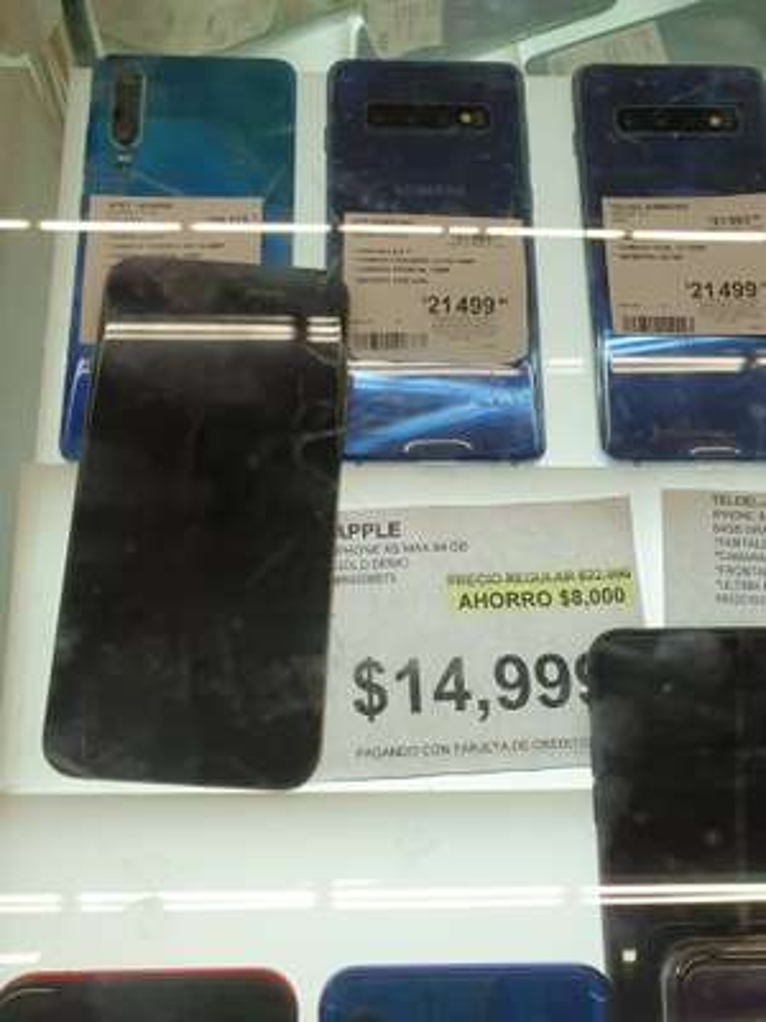 Sam's Club: iPhone XS Max Telcel (Unidad Demo o de exhibición)