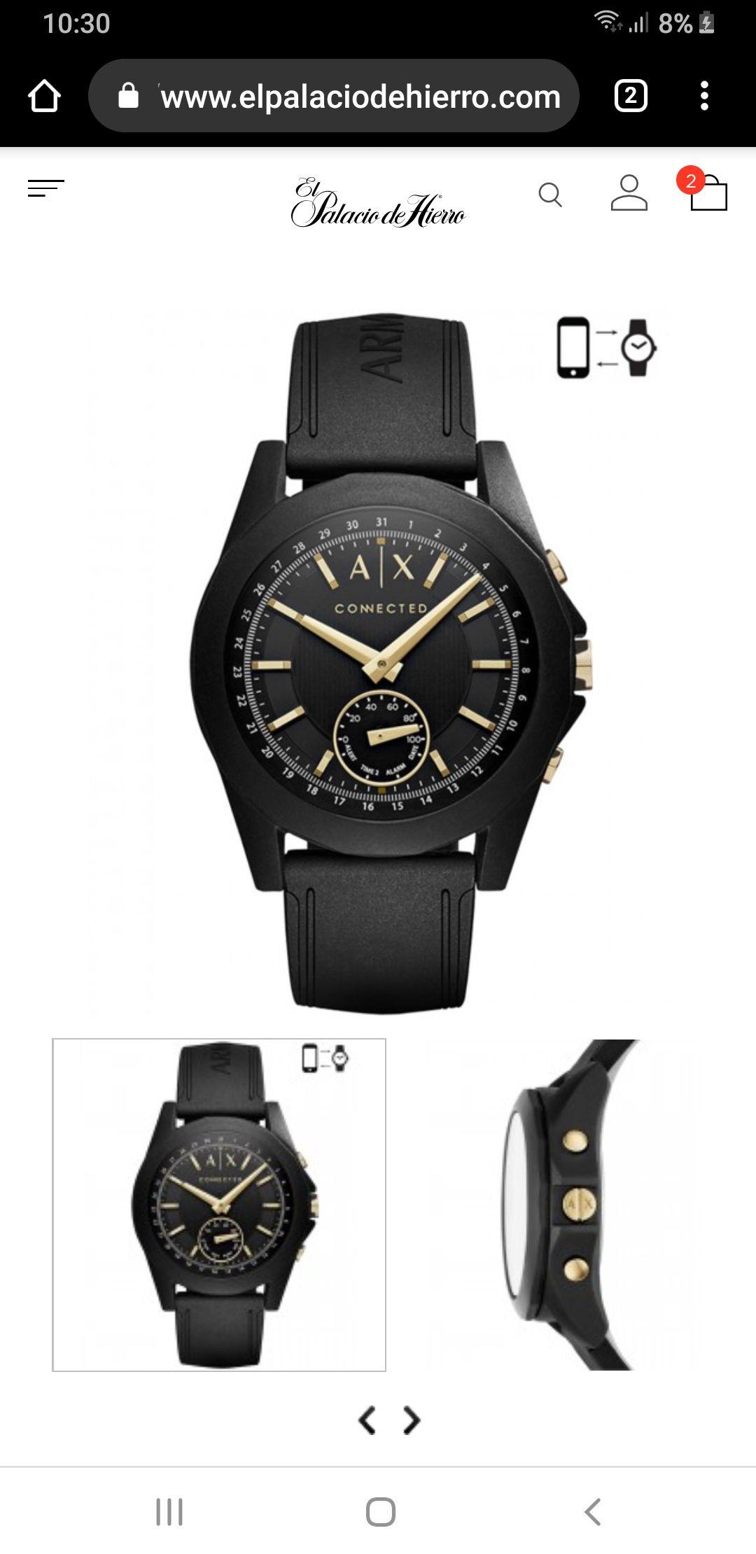 El Palacio de Hierro en línea:  Relojes Híbridos desde $1599 pesos