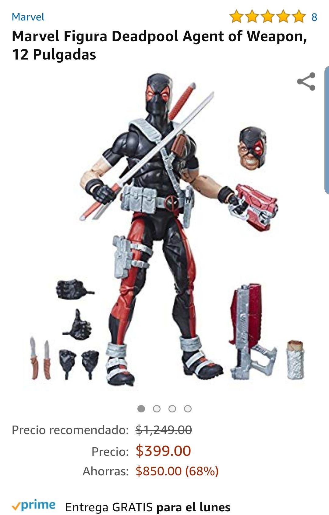 Amazon Figura 12 pulgadas Deadpool Marvel Legends