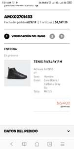 Adidas: TENIS RIVALRY RM BOOST