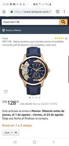 Amazon usa: Reloj Automatico fossil