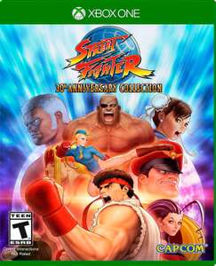 Amazon: Street Fighter 30th Anniversary Collection para Xbox One