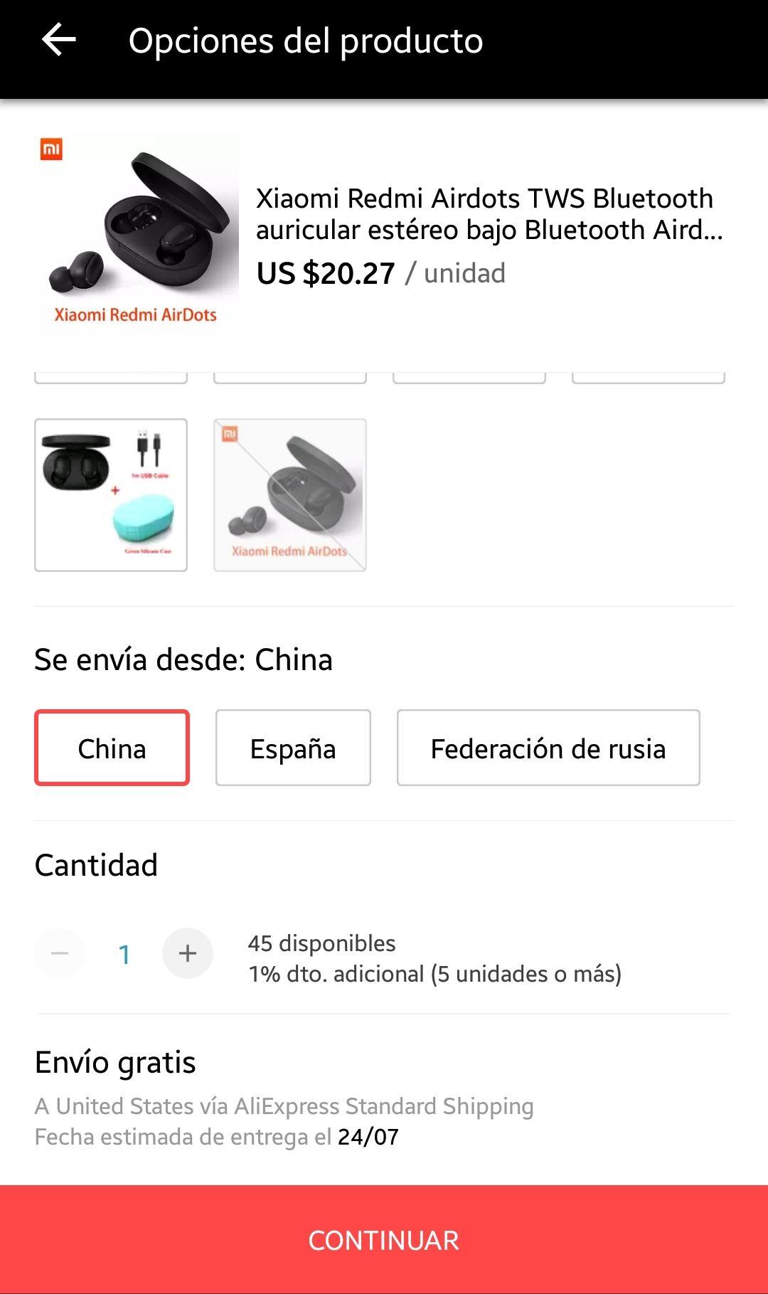 Aliexpress: Xiaomi Redmi Airdots (a $322 con descuento de nuevos usuarios)