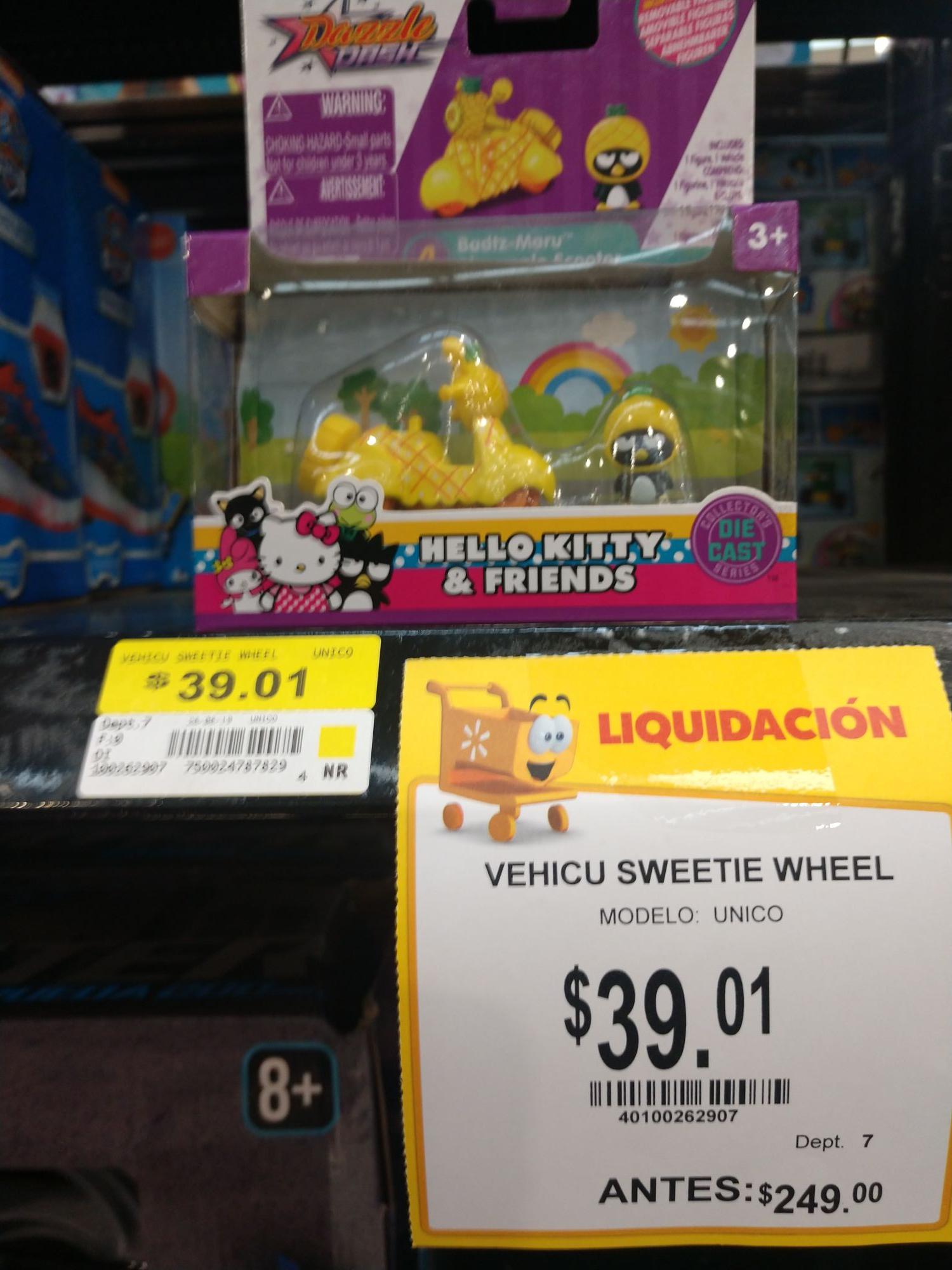 Walmart Las Ánimas: Vehículos Hello Kitty