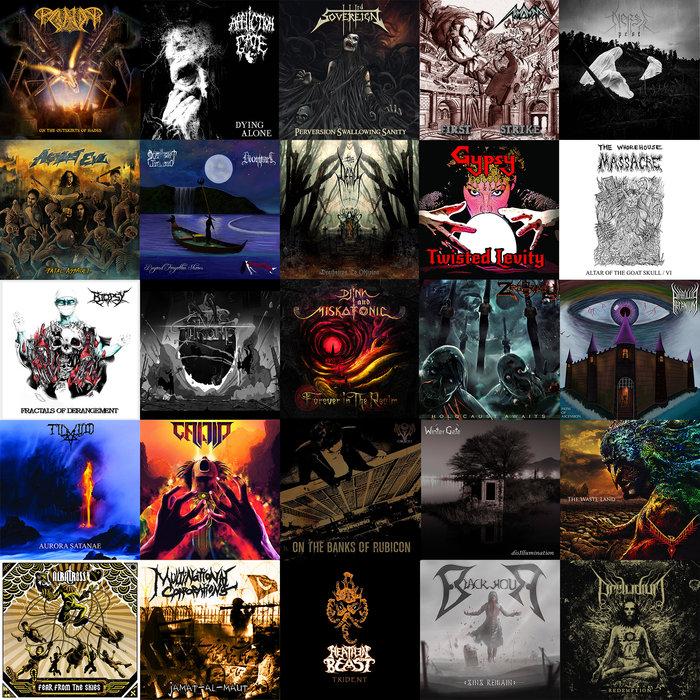Disco con 65 Canciones de Metal como descarga GRATUITA cortesía de TRANSCENDING OBSCURITY.