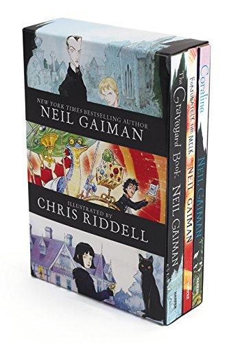 Amazon MX: Paquete de 3 libros de NEIL GAIMAN ilustrados. En inglés