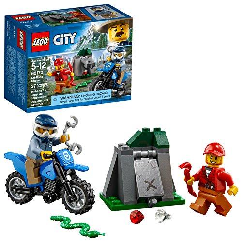 Amazon: LEGO Juego de Construcción City Police Persecución a Campo Abierto (60170)