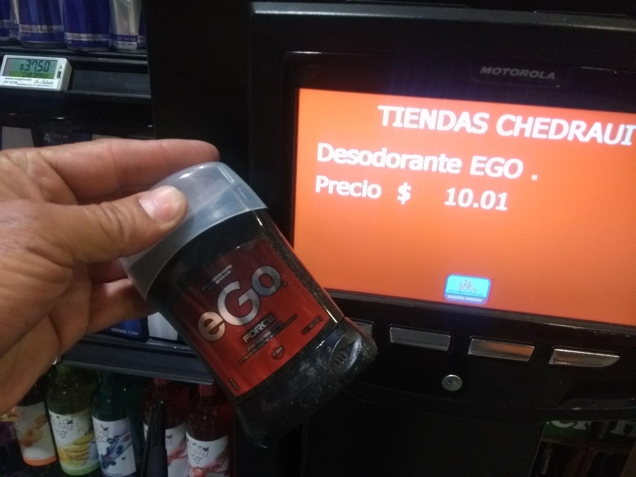 Chedraui: desodorantes Ego Obao