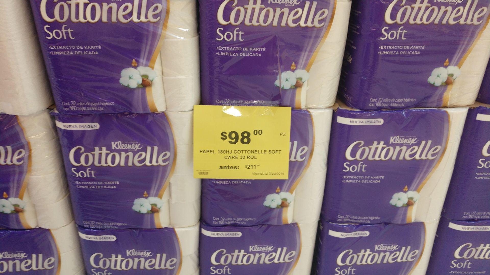 Soriana Híper: Papel higiénico Kleenex Cottonelle soft care