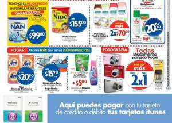 Farmacias Benavides: 3x2 en pañales Huggies, 2x1 en cámaras y más