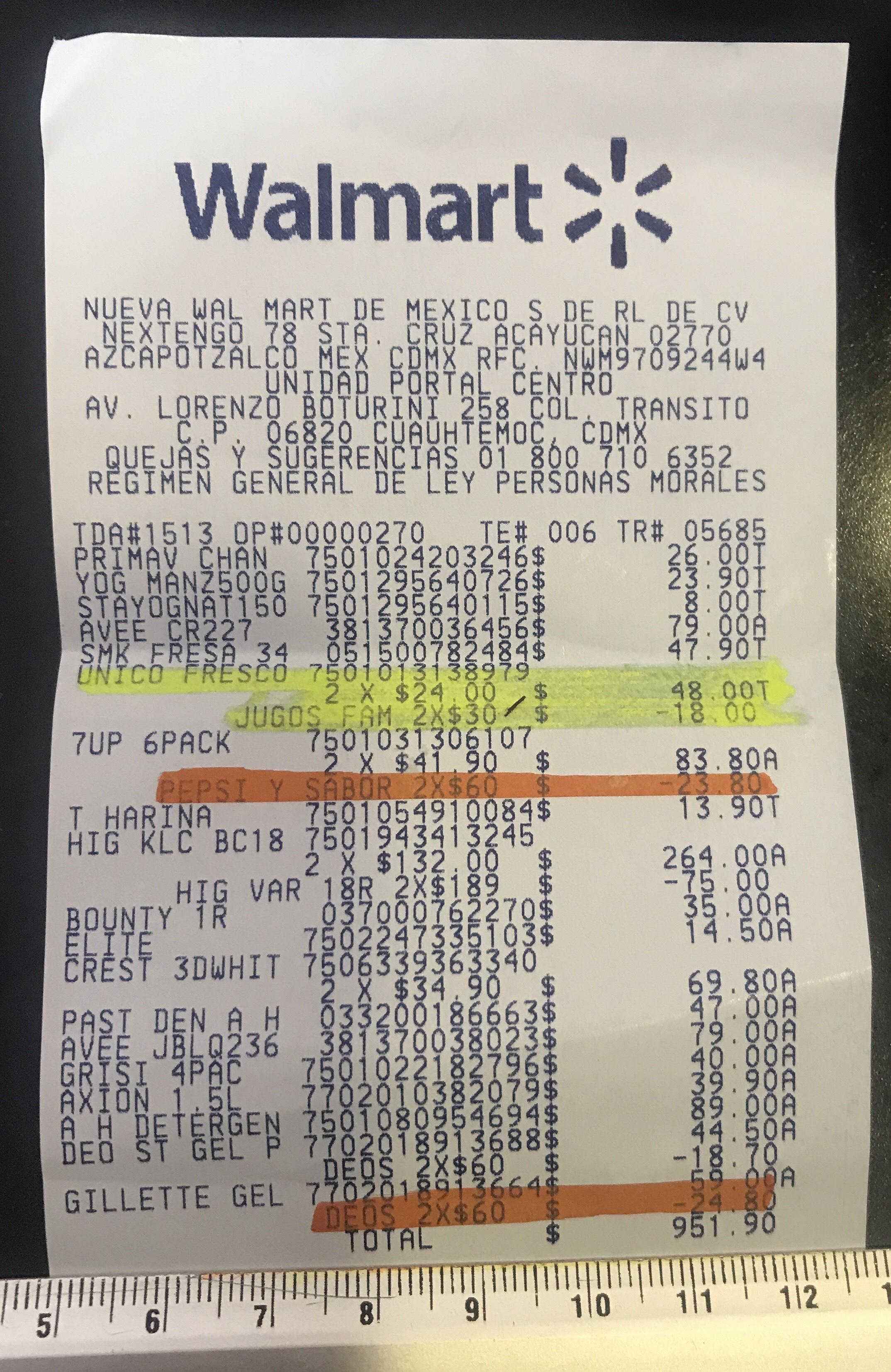 Walmart: Refrescos 7UP 12x$60 y más