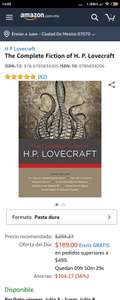 Amazon: The complete Fiction of H.P. Lovecraft