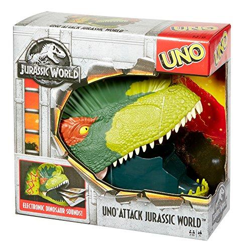 Amazon MX: Mattel Card Game UNO Dino Attack Jurassic World