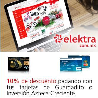 Elektra Online: 10% de descuento con cupón