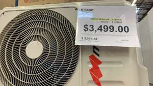Sam's Club: Minisplit 1 t.r. 110v Mirage