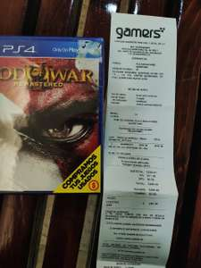 Gamers Querétaro: God of War III Remastered para PS4