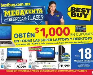 Folleto de ofertas en Best Buy del  7 al 13 de agosto