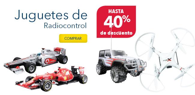 Best Buy: juguetes de radiocontrol hasta 40% de descuento