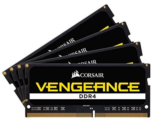 Amazon: 32GB (4x8GB) DDR4 SO-DIMM 3600MHZ  Corsair Vengeance RAM para Laptop