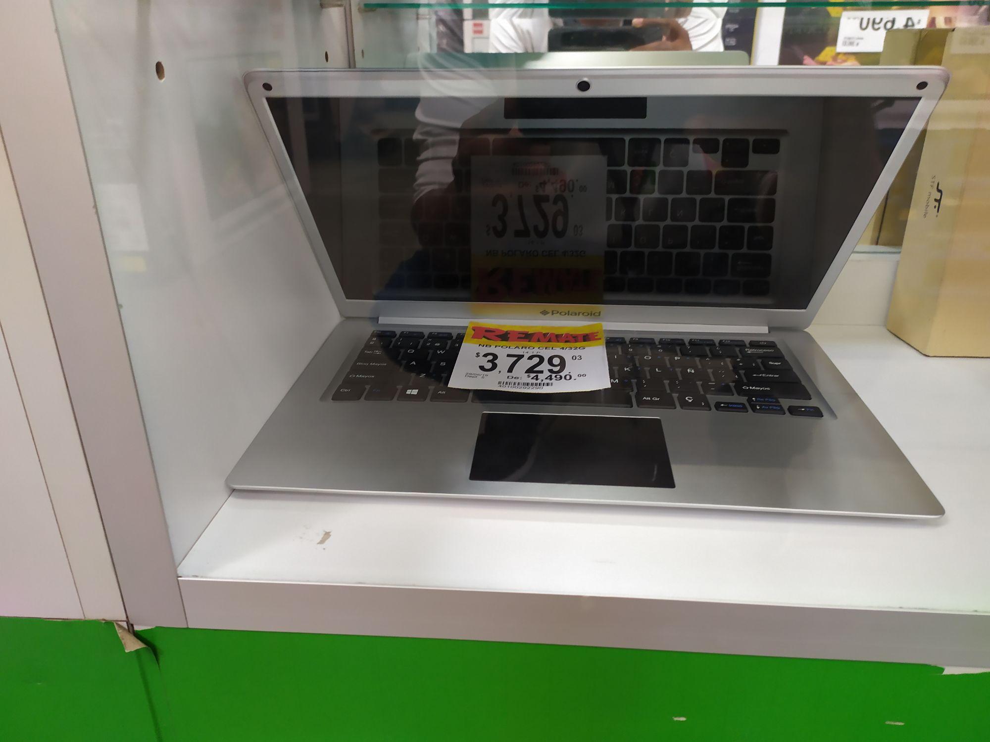 Bodega Aurrerá: Celular Polarod y Laptops desde $3729 pesitos