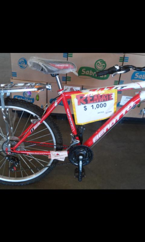 Bodega Aurrerá: Bicicleta Benotto de $2,599 a solo $1,000 pesos