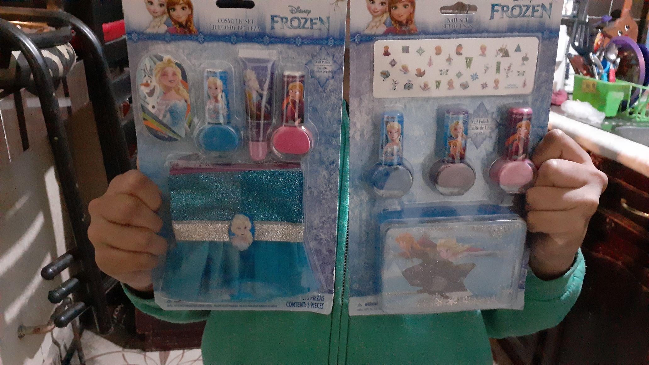 Walmart: Kit de belleza de frozen para niña
