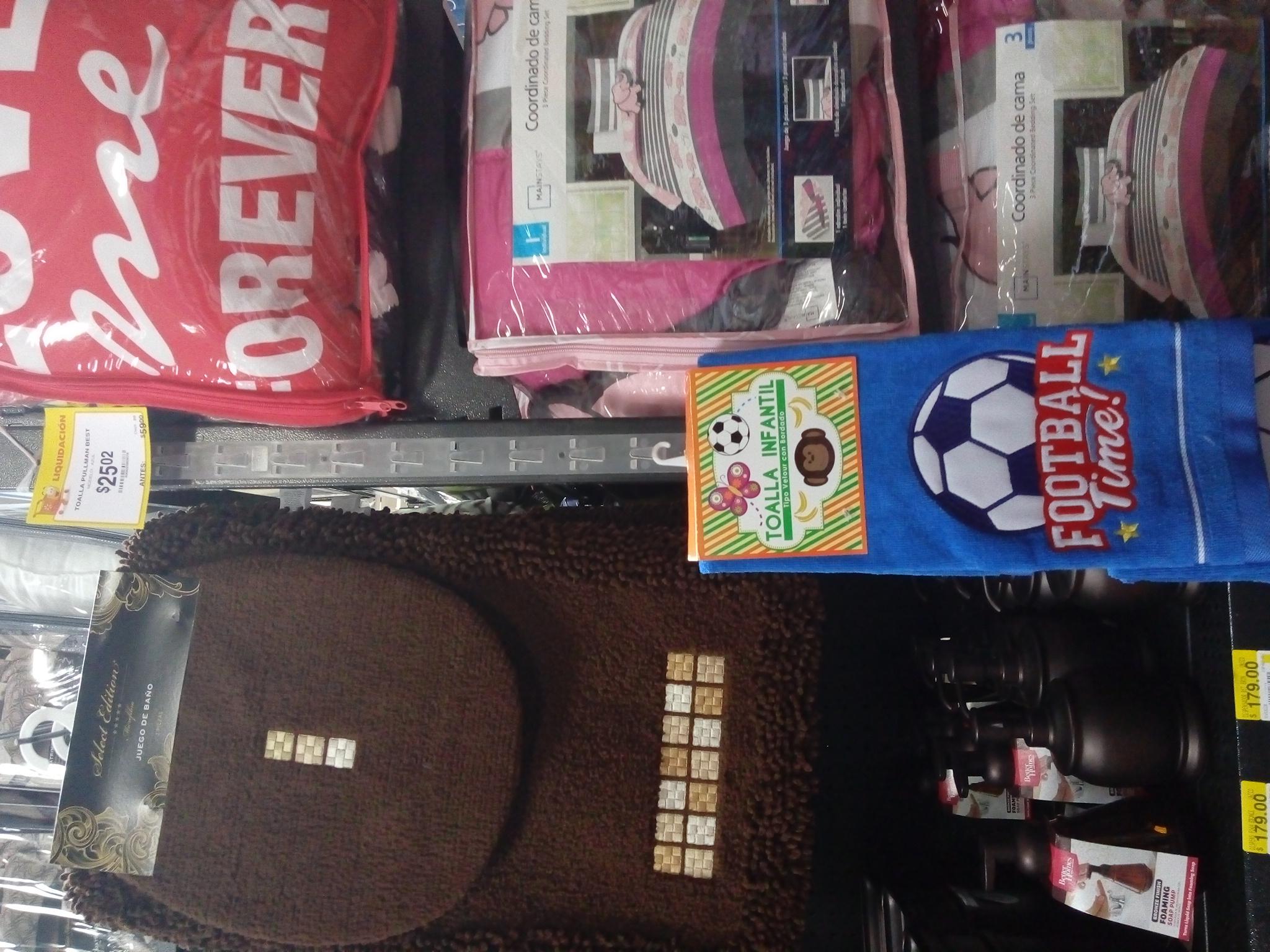 Walmart: toalla de niños..... Tiernas y lindas!!! A darle su espacio a los reyes del hogar!
