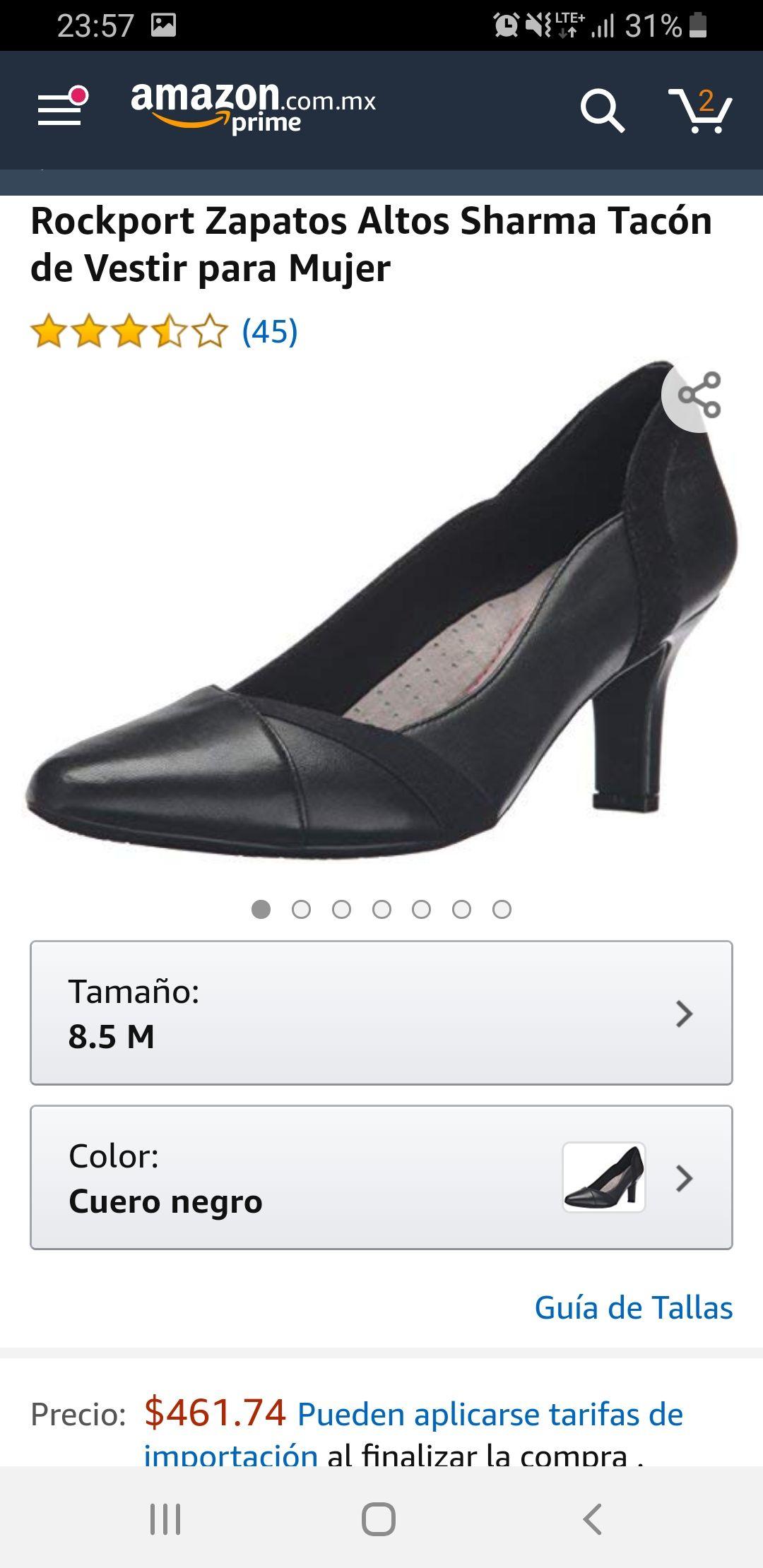 Amazon: Zapatos  Rockport 8.5 USA