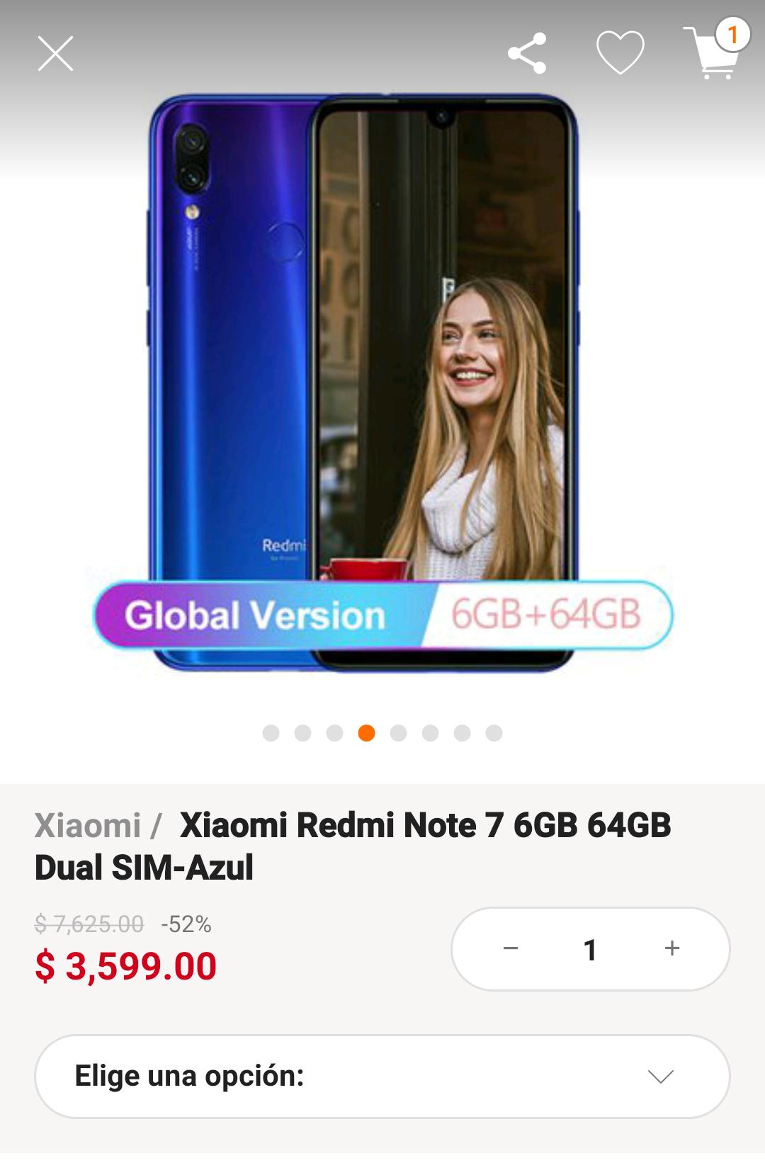 Linio: Xiaomi Note 7