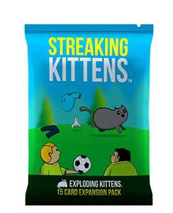 Amazon - Streaking Kittens (expansion de juego de mesa Exploding Kittens)