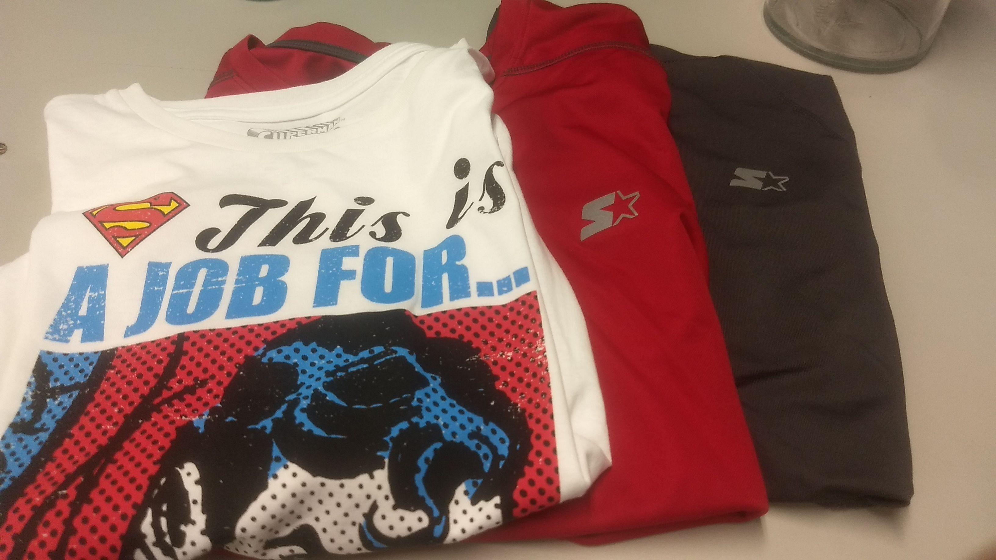 Walmart: Camisetas cómic y deportivas