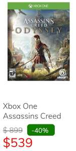 Sanborn's: Assassins Creed Odyssey Xbox One/PS4