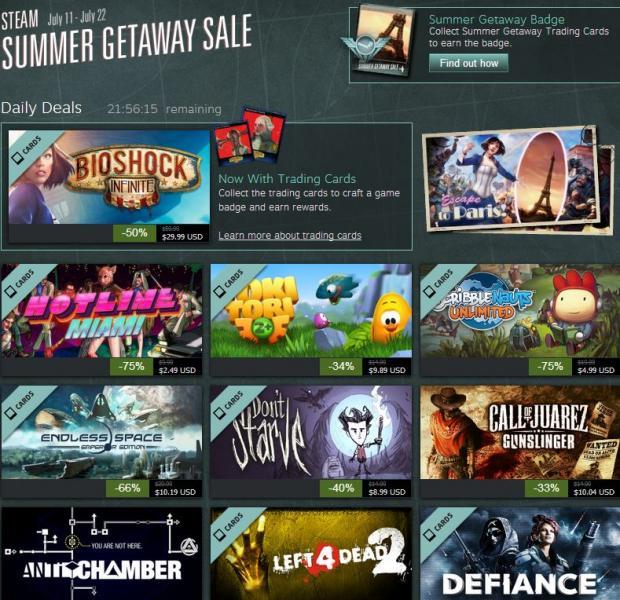 Summer Getaway Sale en Steam: 12 días de descuentos en juegos de PC