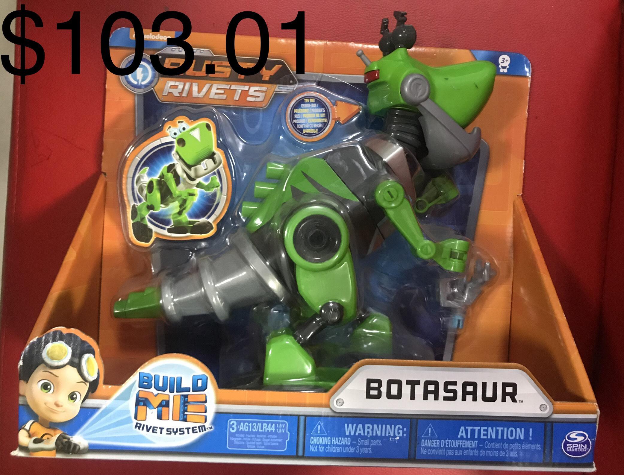 Walmart: Rusty Rivets-Botasaurio Robot con sonido