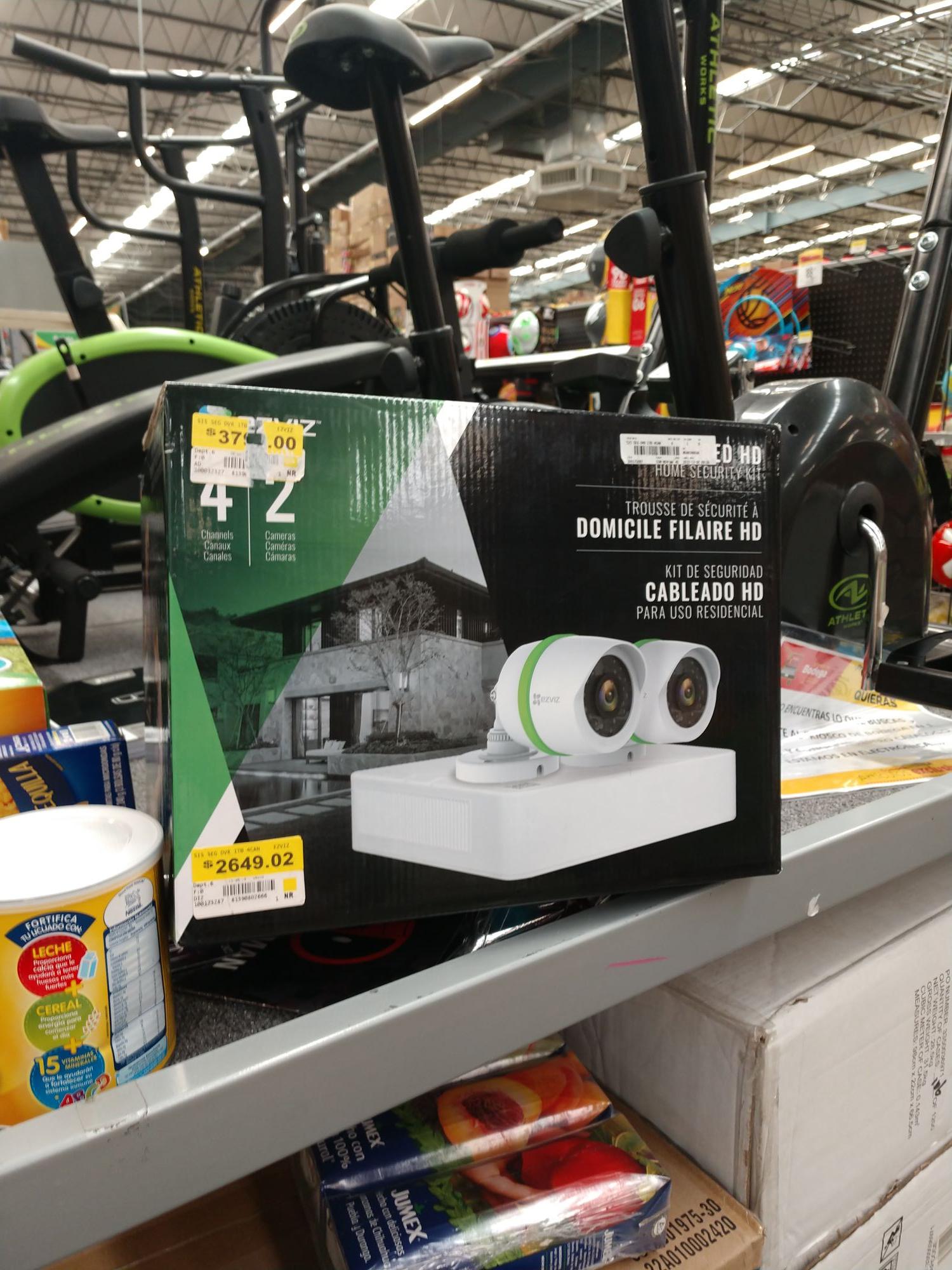 Bodega aurrera: cámaras de vigilancia 1tb