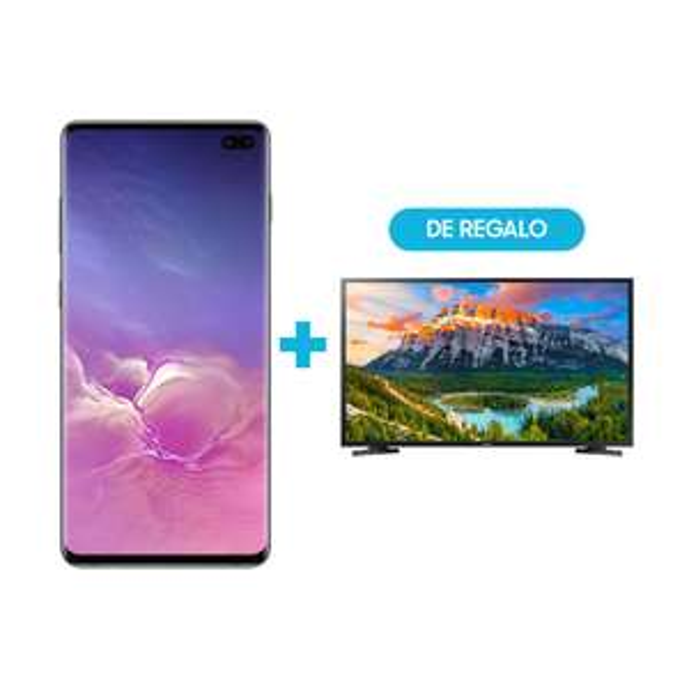 Samsung Store: Samsung S10 plus con Smart TV de 43 Pulgadas LED FullHD de regalo
