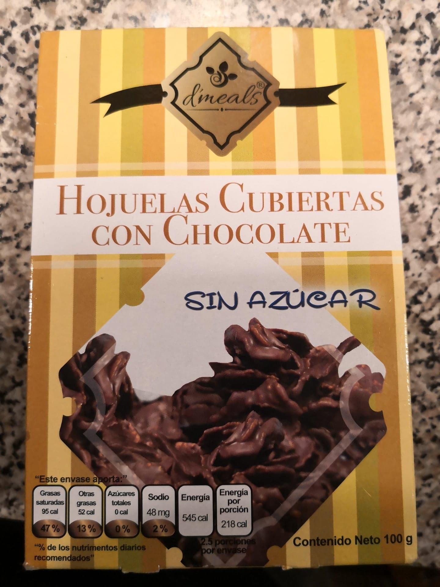 Superama Coyoacán CDMX: Hojuelas de chocolate sin azúcar d'meals