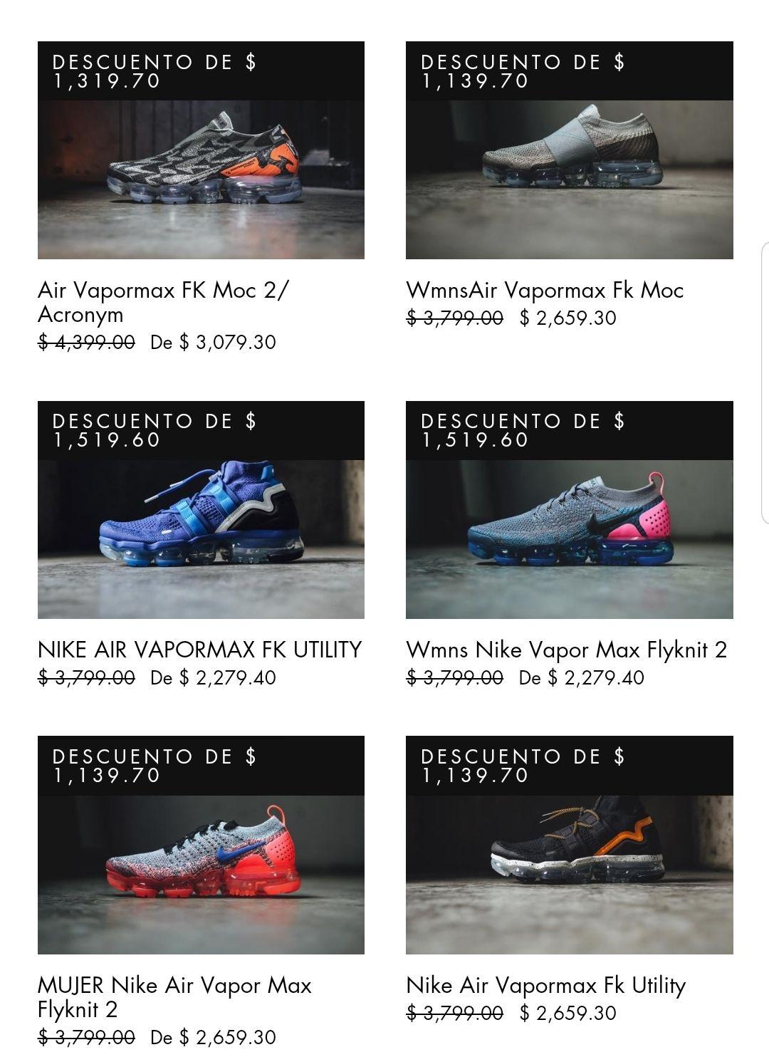 Lust México: Nike Premium desde $2'279