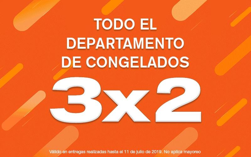 Temporada Naranja 2019 en La Comer: Congelados al 3x2 (recopilación de paletas Holanda que participan en promo de cine)