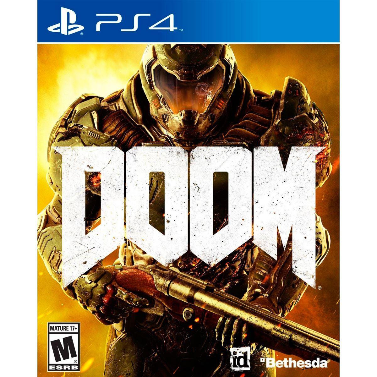 Sanborns y Claro Shop: Doom para Playstation 4