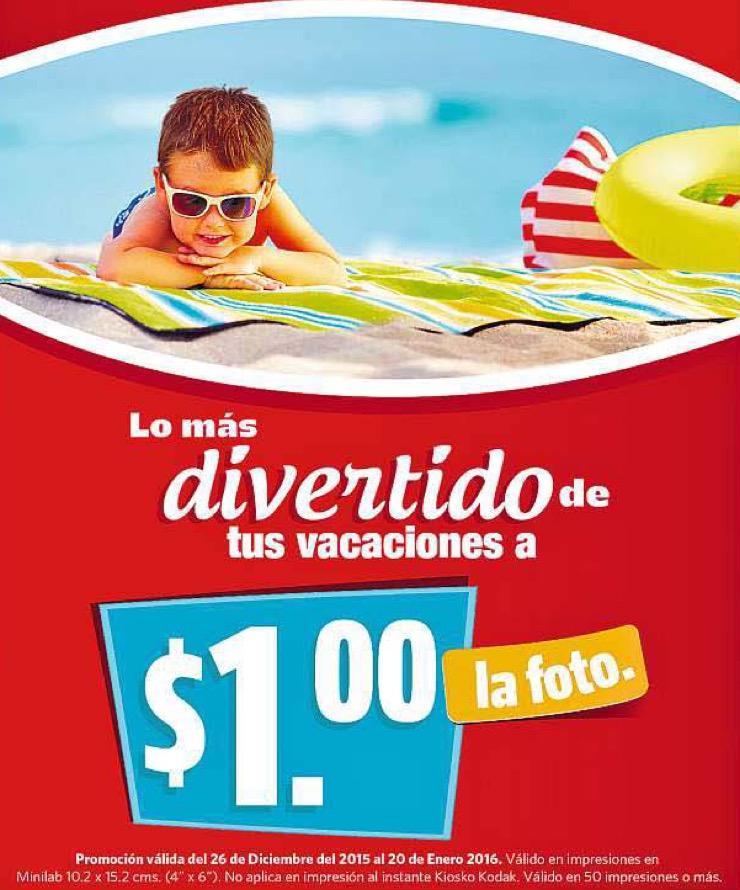 Farmcias Guadalaja: impresión de foto $1 (mínimo 50)