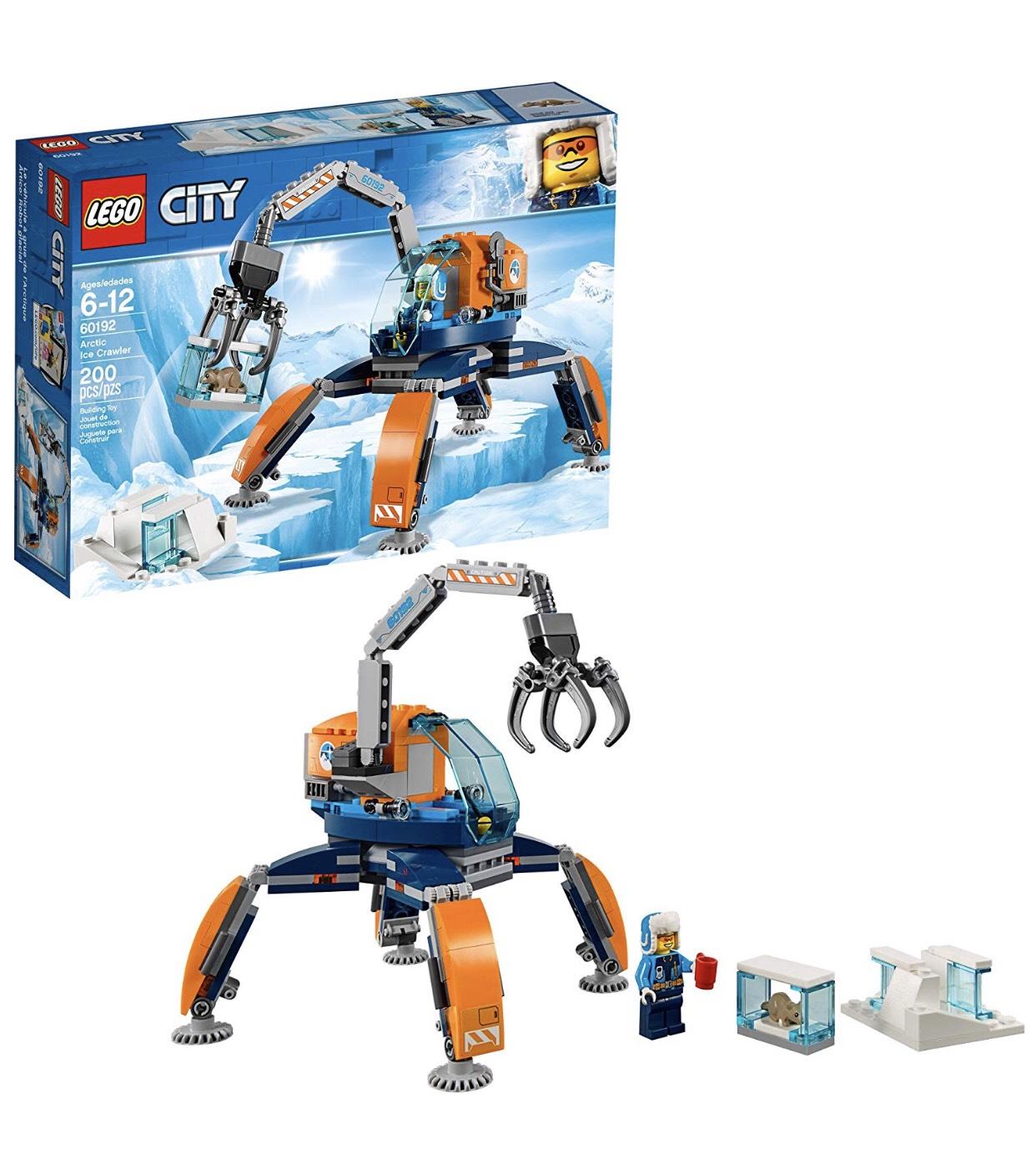 Amazon: LEGO City, Ártico: Robot Glacial 60192