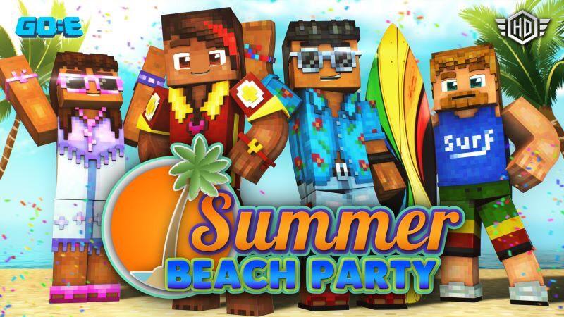 SUMMER BEACH PARTY para Minecraft