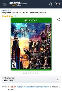 Amazon: Kingdom Hearts III Xbox One