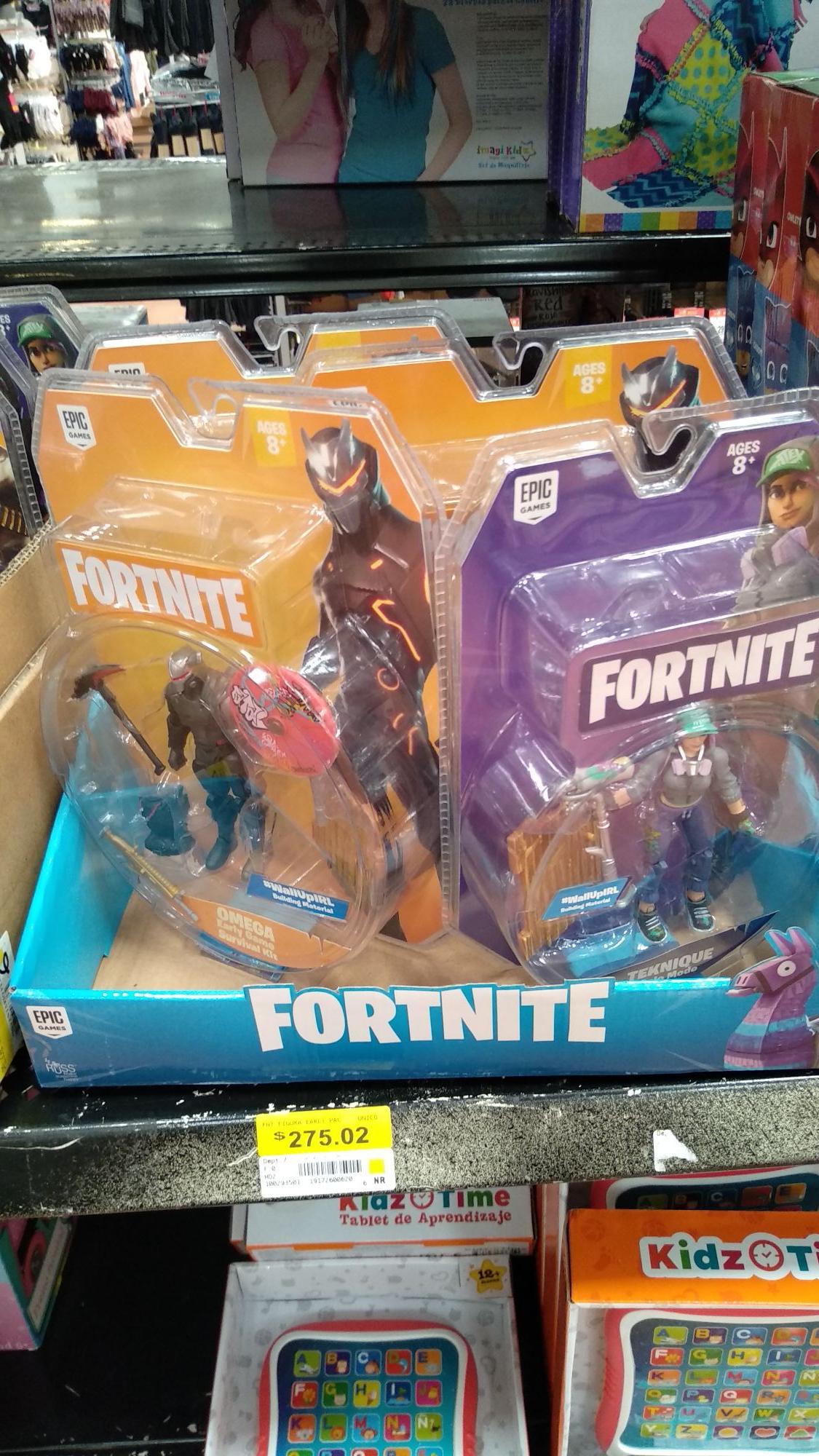 Walmart: Figuras de Fortnite y más