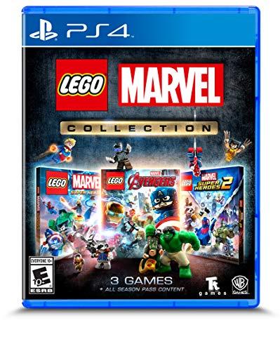 Amazon: Lego Marvel Collection (3 videojuegos) para Playstation 4 y Xbox One