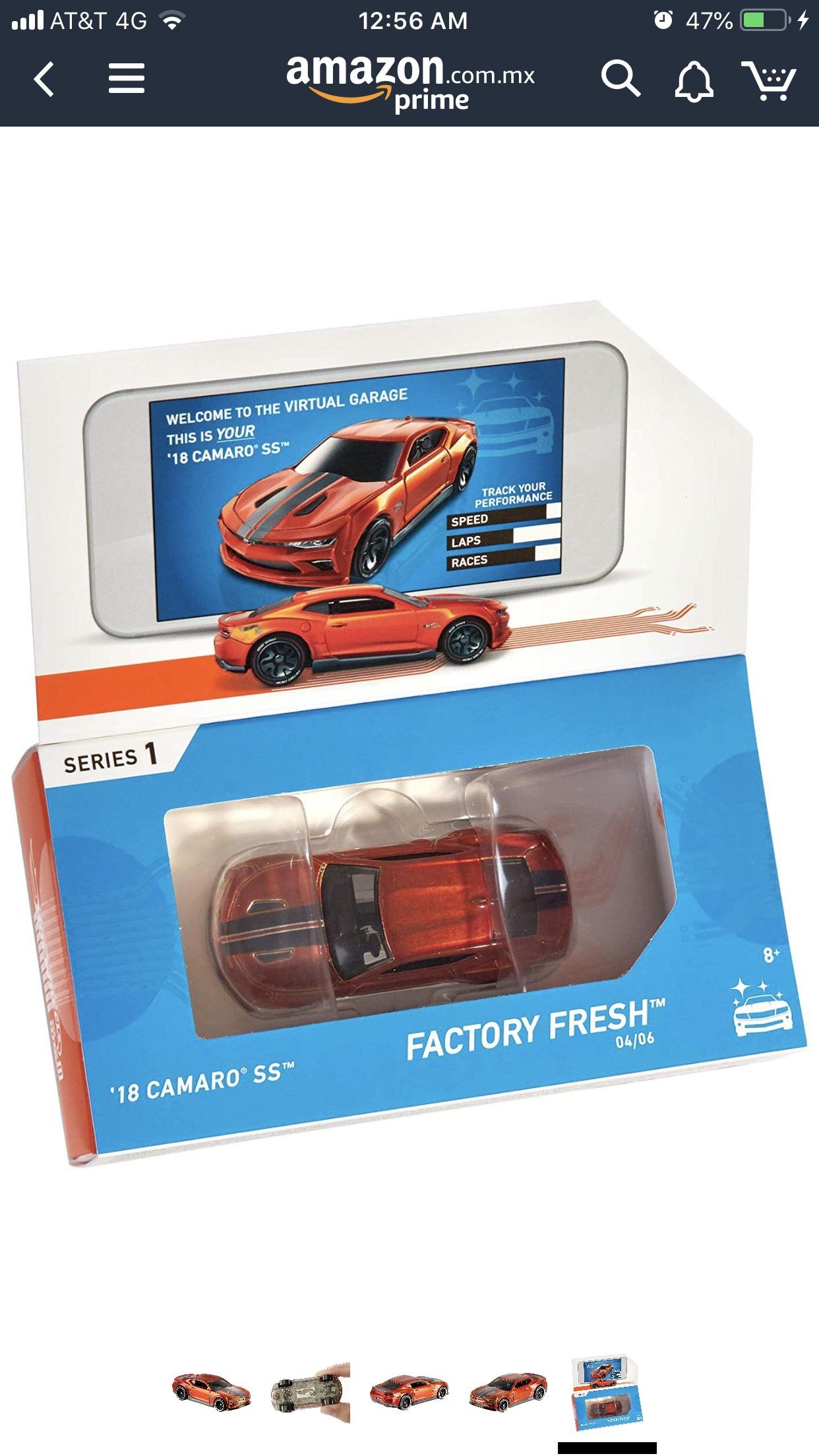 Amazon: Hot Wheels ID Camaro SS